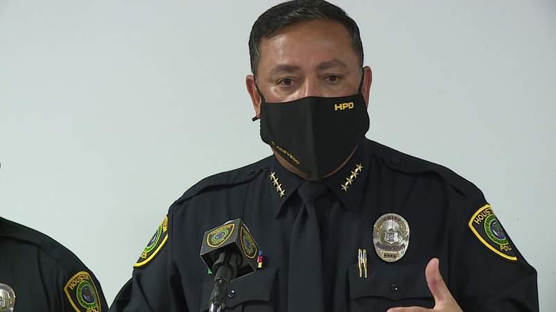 November 2020 photo of Houston police Chief Art Acevedo