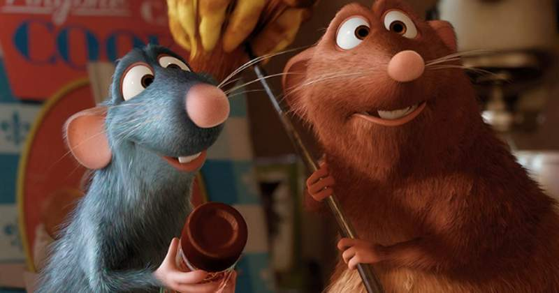 """2007: The Disney/Pixar computer-animated film """"Ratatouille"""" opens in theaters. The movie, starring the voice of Patton Oswalt as Remy, an anthropomorphic rat who has a passion for cooking, became a big box office hit, grossing $623.7 (Disney/Pixar)"""