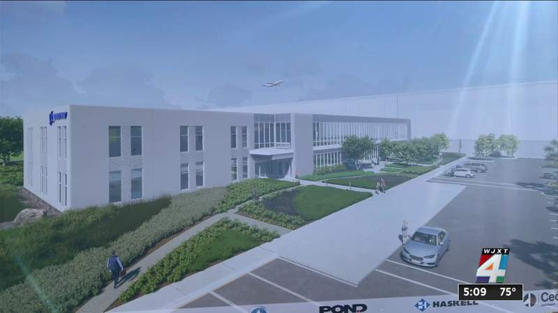 Boeing, Jacksonville leaders break ground for new maintenance facility to bring 300 new jobs