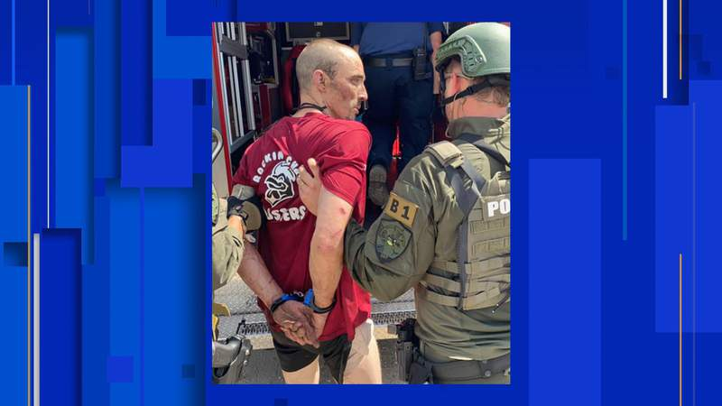 The accused killer of a Nassau County deputy was taken into custody Tuesday afternoon at a sports complex west of Callahan.