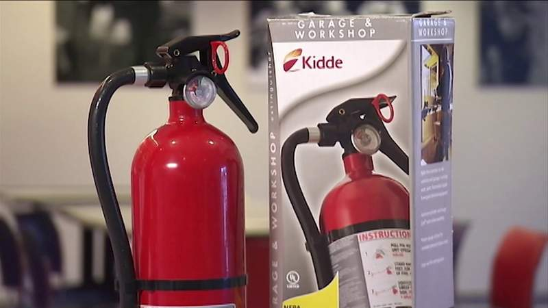 Consumer Reports investigates Kidde recall of fire extinguishers