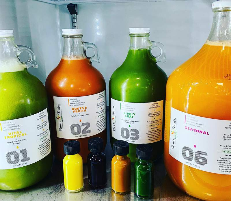 Facebook: Roots and Fruits Juicery