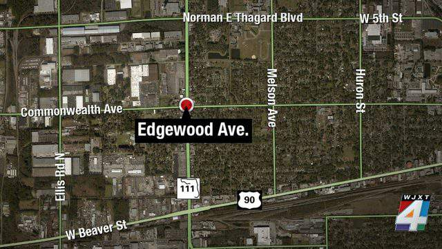 JSO found a woman shot in her leg early Sunday morning on Edgewood Avenue North.