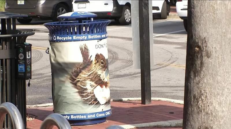 Smart Bins Help Recycling Effort