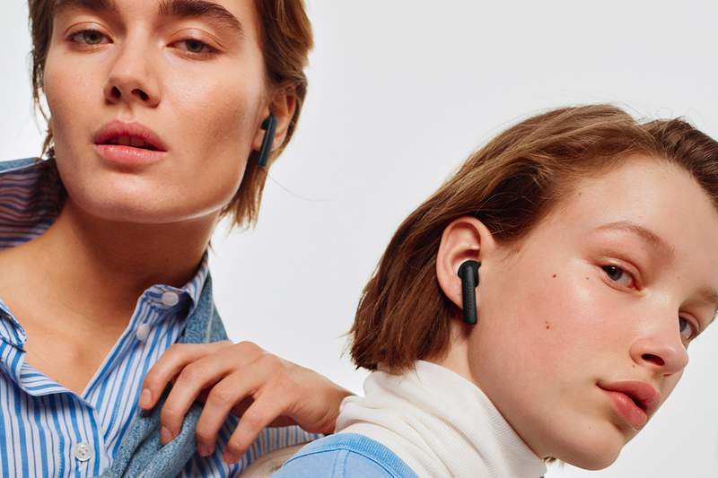 Luma headphones fit comfortably in your ear and will stay there while you work out, do chores or run errands.