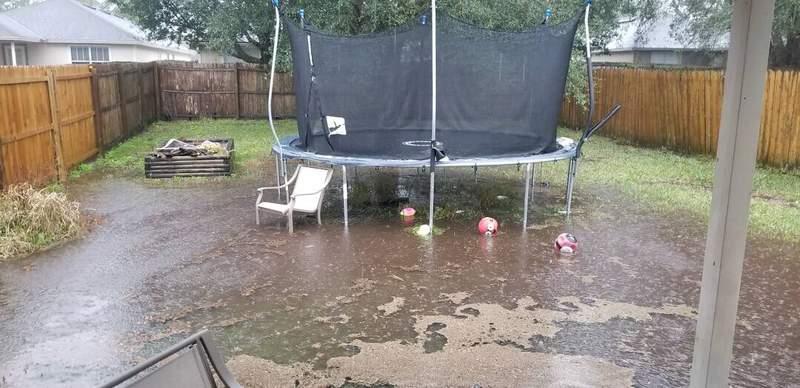 Flooding in Orange Park from RampMom on SnapJax