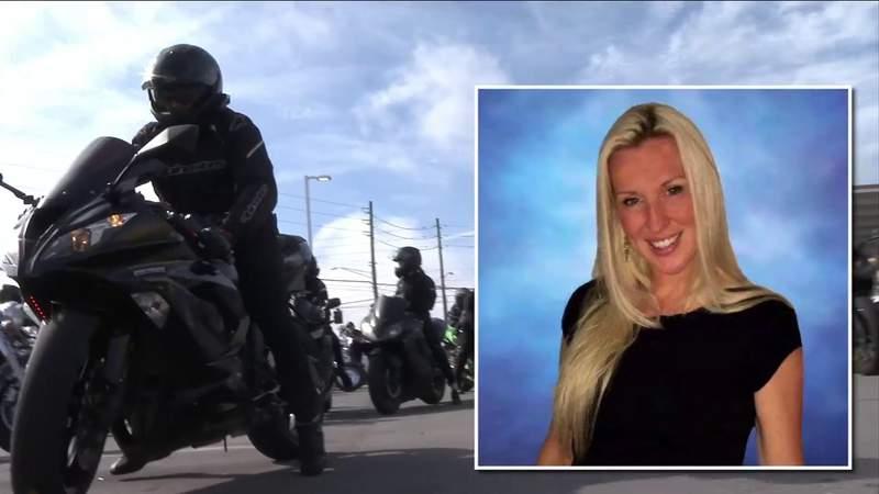 Memorial ride honors veterinary surgeon killed in St. Johns County crash