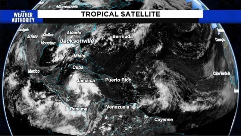 Tropical Trouble - Wind Shear Fades