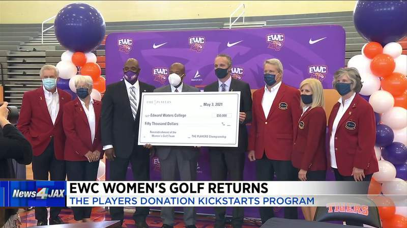 Women's golf team returning to Edward Waters College, with assist from The Players
