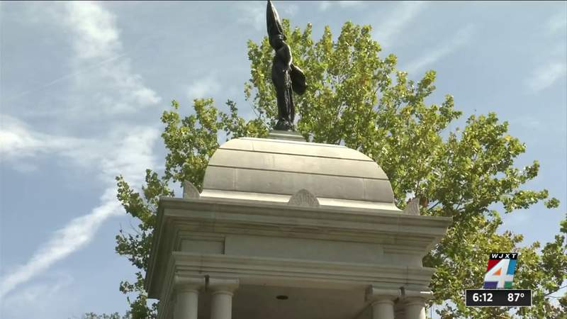 Jacksonville lawsuit argues spending tax money on Confederate statues violates Constitution