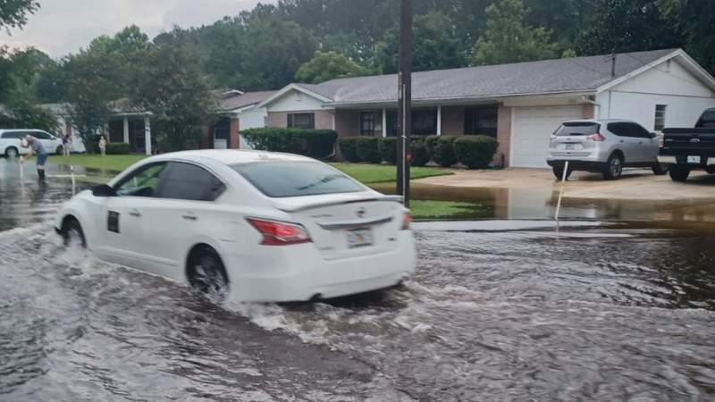 Arlington neighborhood concerned with flooding