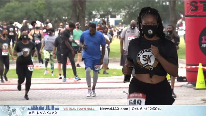 BLM 5K offers supporters a different way to have their voices heard