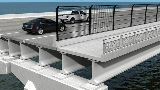 Florida Department of Transportation rendering of shared use path