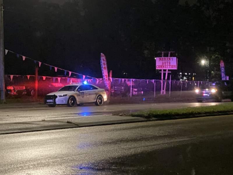 Man found injured at Westside auto shop.
