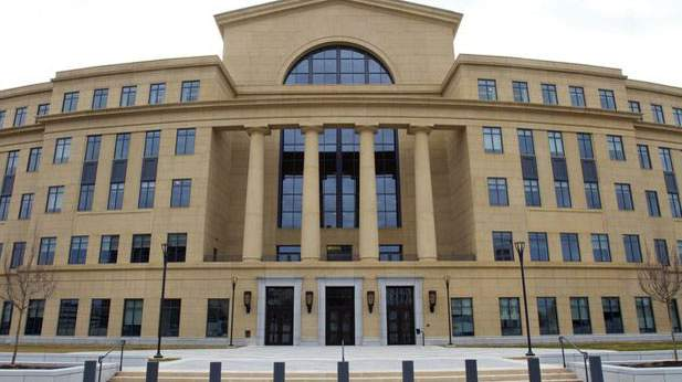 The Georgia Supreme Court meets in the Nathan Deal Judicial Center in Atlanta
