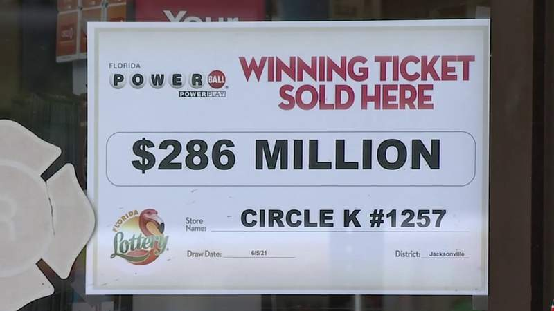$286 million Powerball ticket sold on Jacksonville's Westside
