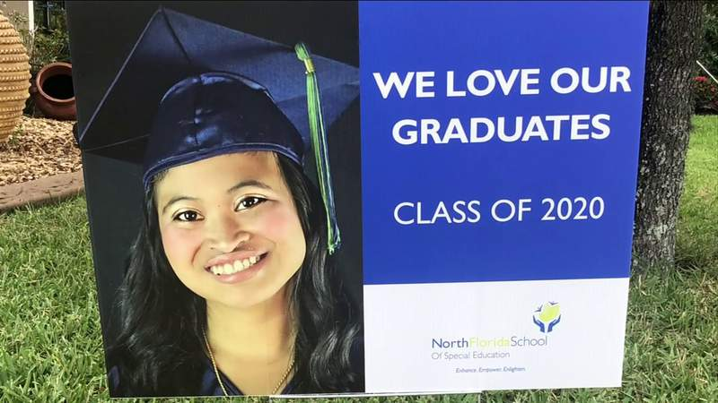 Teachers, staff bring graduation home to special needs students