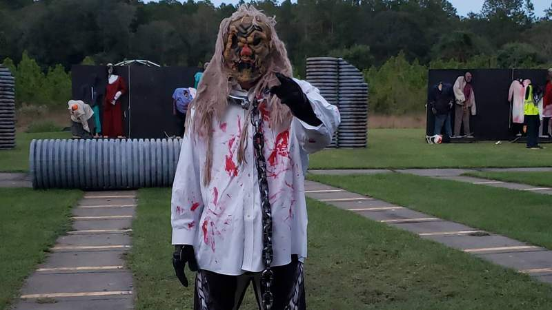 Live Zombie Shoot 2: The Trails Have Eyes | GTF Paintball