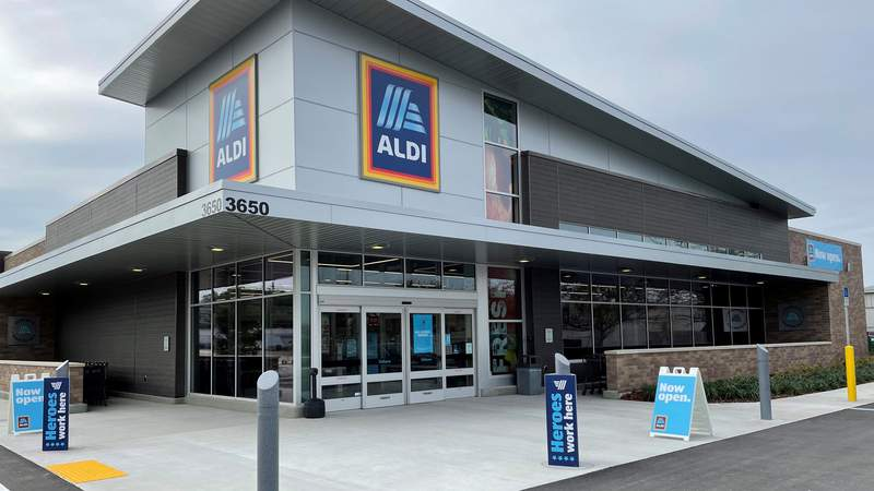 ALDI's newest grocery store opens Thursday at the corner of Philips Highway and Emerson Street.