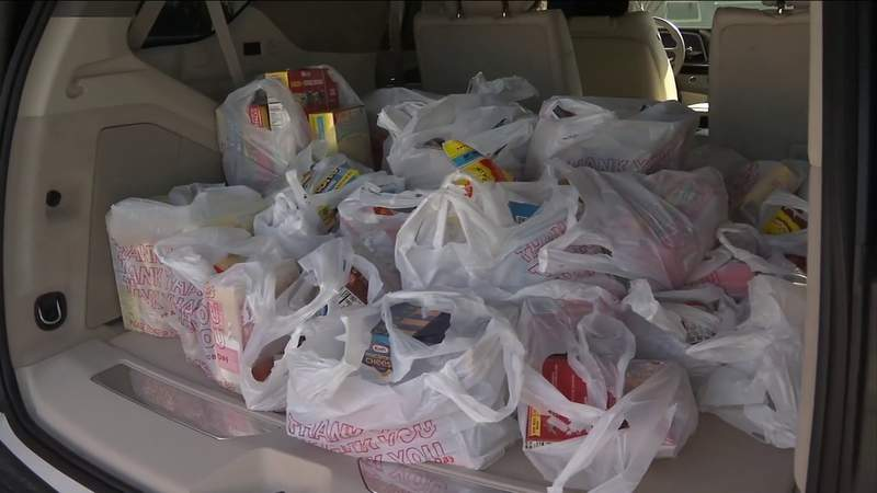 Positively Jax food drive brings in flood of donations