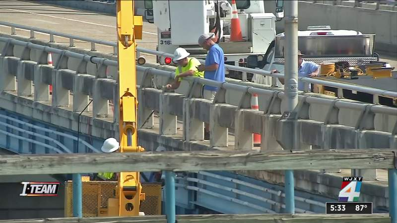 A look at the overall condition of each of Jacksonville's 7 major bridges