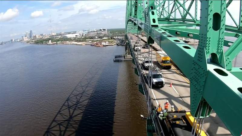 FDOT offers glimpse of what goes into inspecting the Hart Bridge