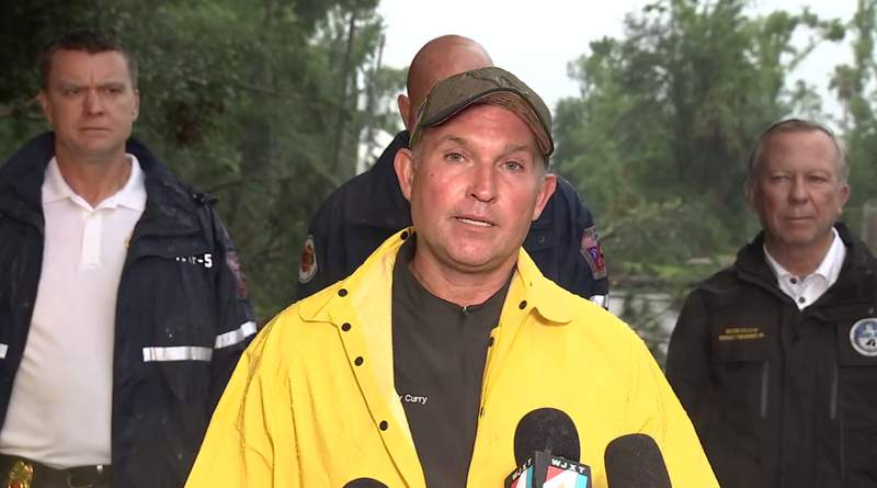 Mayor Lenny Curry holds news briefing