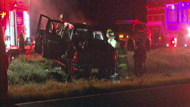 Two died and four were injured in a wrong-way crash involving two pickup trucks in 2020.