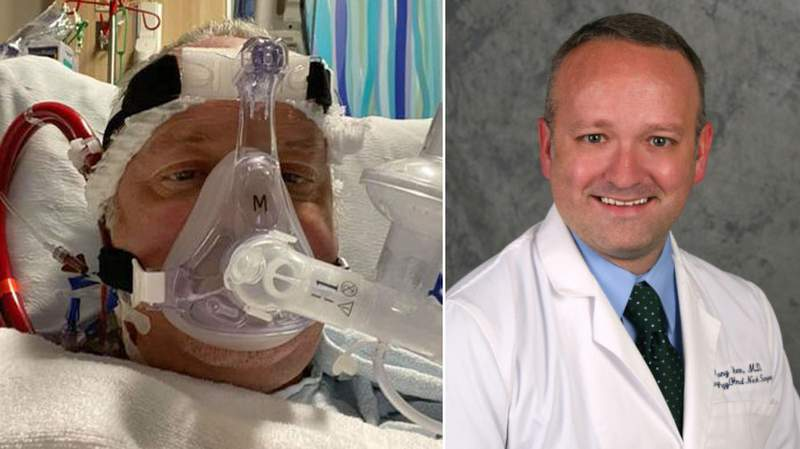 Photos of Dr. Anthony Tucker provided to Orlando Sentinel, Flagler Live.