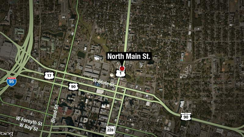 One person was stabbed downtown overnight near North Main Street