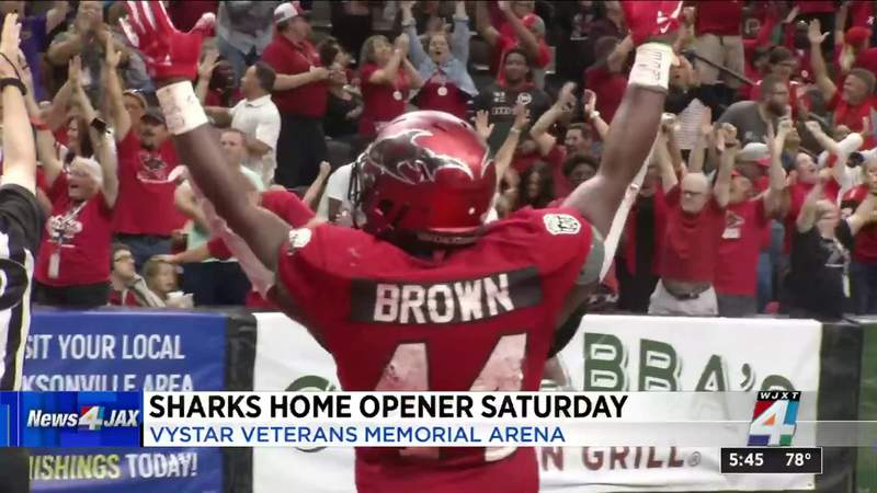 Jacksonville Sharks ready to get back out on the field