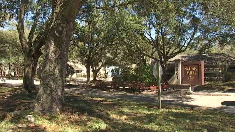 Man found dead in parking lot of Sugar Mill Apartments on Crown Point Road.