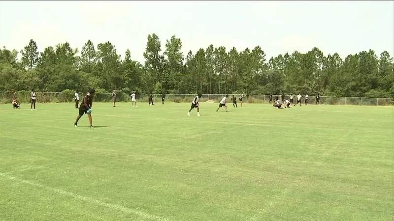 High school athletes across the First Coast return to campus for voluntary workouts