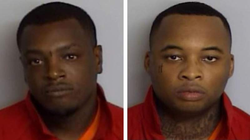 Marcus Whitfield (left) and Demetrius Wilson (right)
