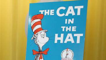 """""""The Cat in the Hat"""" book."""