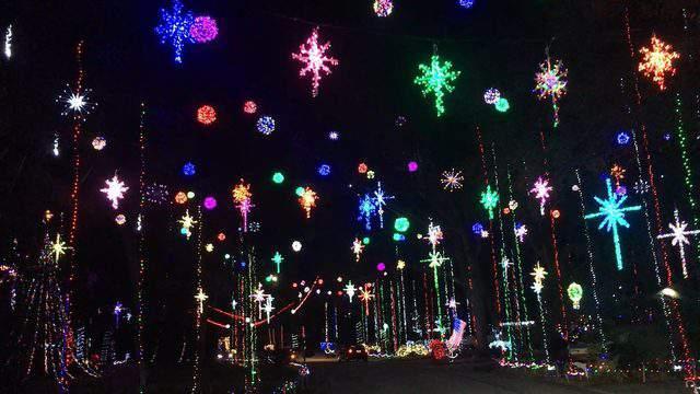 List: Best Christmas light displays around Jacksonville